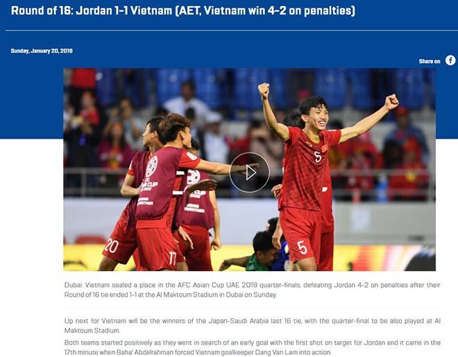 ĐT Việt Nam hạ Jordan: Báo Jordan gọi Việt Nam là thế lực mới nổi ở châu Á - 4