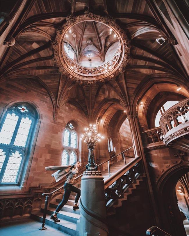 Lạc vào thế giới phù thủy cùng Harry Potter tại những thư viện huyền bí này - 1