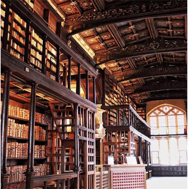 Lạc vào thế giới phù thủy cùng Harry Potter tại những thư viện huyền bí này - 11