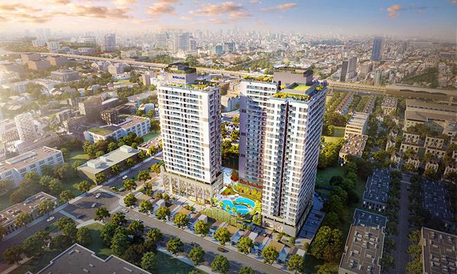 Phối cảnh dự án Rivera Park Nghĩa Tân