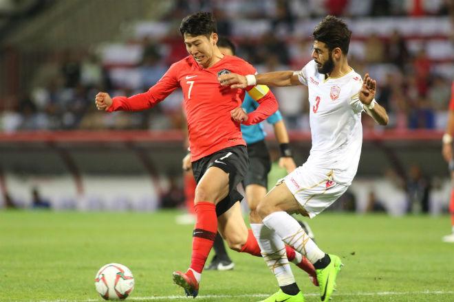 Asian Cup Hàn Quốc - Bahrain: Khó khăn bất ngờ, căng thẳng ở hiệp phụ - 1