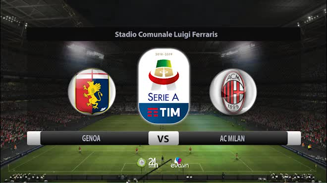 Highlight: Genoa vs AC Milan