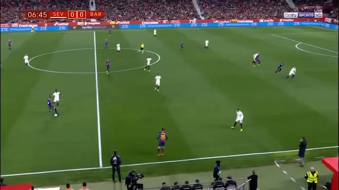 Highlight: Sevilla vs Barcelona