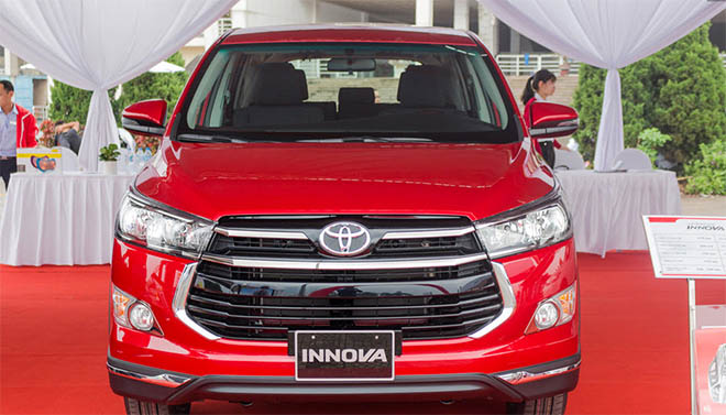 Bảng giá xe Toyota innova 2019 mới nhất - Toyota Hà Tĩnh