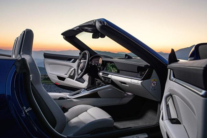 Ảnh thực tế Porsche 911 Cabriolet thế hệ mới tại Geneva Motor Show 2019 - 10