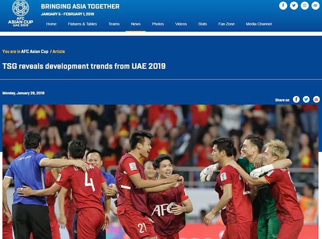 """ĐT Việt Nam gây tiếng vang Asian Cup: Báo châu Á nể phục lá cờ đầu """"vùng trũng"""" DT-Viet-Nam-gay-tieng-vang-Asian-Cup-Chau-a-ne-phuc-la-co-dau-vung-trung-afc-1548856265-238-width660height491"""