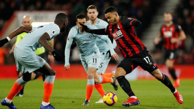 """Video, kết quả bóng đá Bournemouth - Chelsea: Phản công sắc lẹm, 4 """"cú đấm"""" trời giáng - 1"""