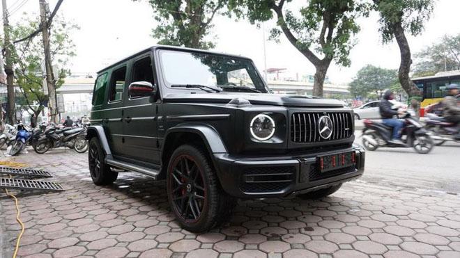 Mercedes-Benz G63 2019 Edition One màu đen đầu tiên về Việt Nam, giá bán ước tính hơn 14 tỷ đồng - 1