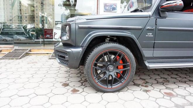 Mercedes-Benz G63 2019 Edition One màu đen đầu tiên về Việt Nam, giá bán ước tính hơn 14 tỷ đồng - 7