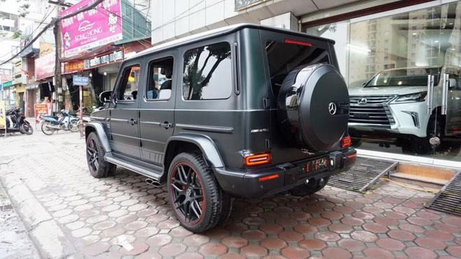 Mercedes-Benz G63 2019 Edition One màu đen đầu tiên về Việt Nam, giá bán ước tính hơn 14 tỷ đồng - 4