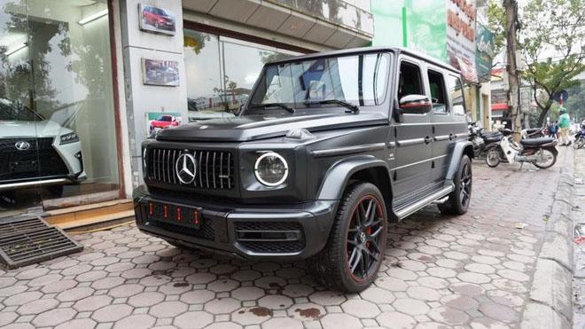 Mercedes-Benz G63 2019 Edition One màu đen đầu tiên về Việt Nam, giá bán ước tính hơn 14 tỷ đồng - 2