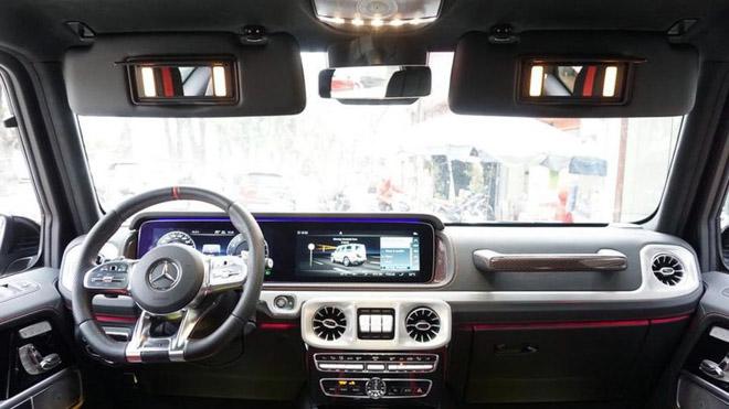 Mercedes-Benz G63 2019 Edition One màu đen đầu tiên về Việt Nam, giá bán ước tính hơn 14 tỷ đồng - 8