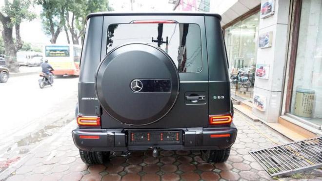 Mercedes-Benz G63 2019 Edition One màu đen đầu tiên về Việt Nam, giá bán ước tính hơn 14 tỷ đồng - 6
