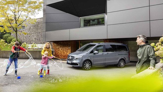 Mercedes-Benz giới thiệu V-CLass 2019 bản nâng cấp với hộp số tự động 9 cấp - 9