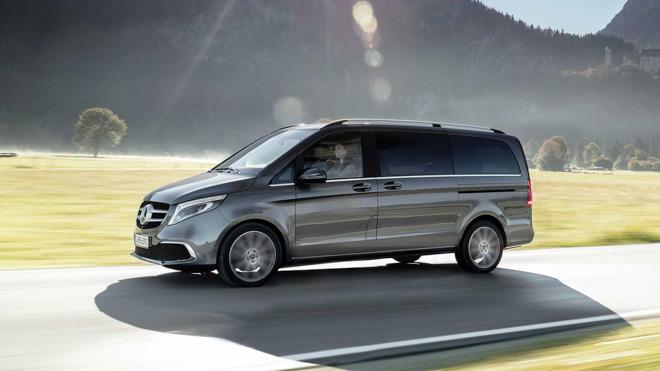 Mercedes-Benz giới thiệu V-CLass 2019 bản nâng cấp với hộp số tự động 9 cấp - 2