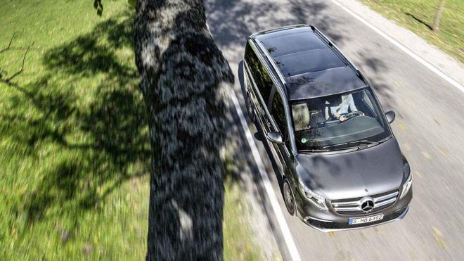 Mercedes-Benz giới thiệu V-CLass 2019 bản nâng cấp với hộp số tự động 9 cấp - 3