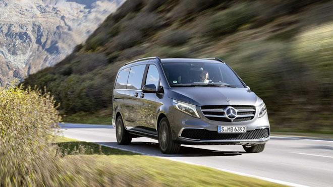 Mercedes-Benz giới thiệu V-CLass 2019 bản nâng cấp với hộp số tự động 9 cấp - 10