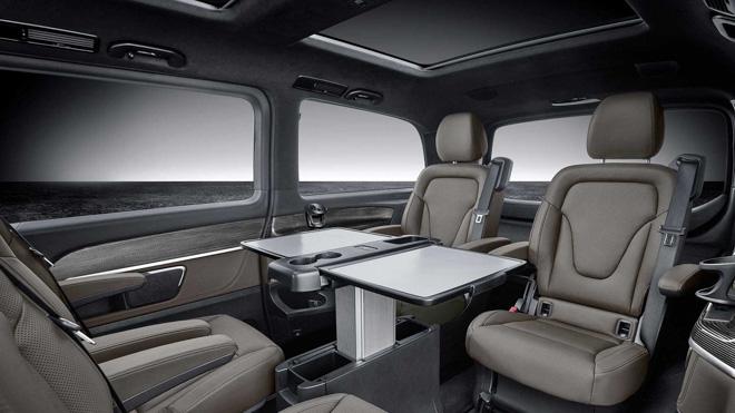 Mercedes-Benz giới thiệu V-CLass 2019 bản nâng cấp với hộp số tự động 9 cấp - 6