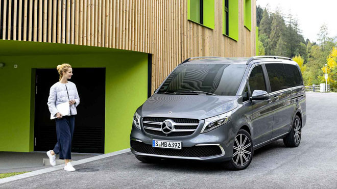 Mercedes-Benz giới thiệu V-CLass 2019 bản nâng cấp với hộp số tự động 9 cấp - 1