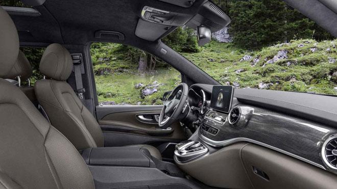 Mercedes-Benz giới thiệu V-CLass 2019 bản nâng cấp với hộp số tự động 9 cấp - 8