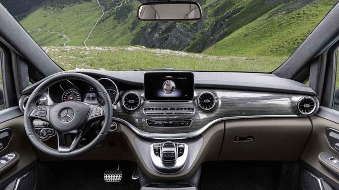 Mercedes-Benz giới thiệu V-CLass 2019 bản nâng cấp với hộp số tự động 9 cấp - 4