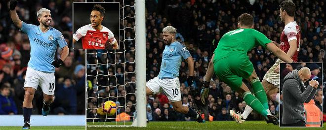 Fan Liverpool nổi giận: Aguero ghi bàn bằng tay, trọng tài vẫn công nhận - 1