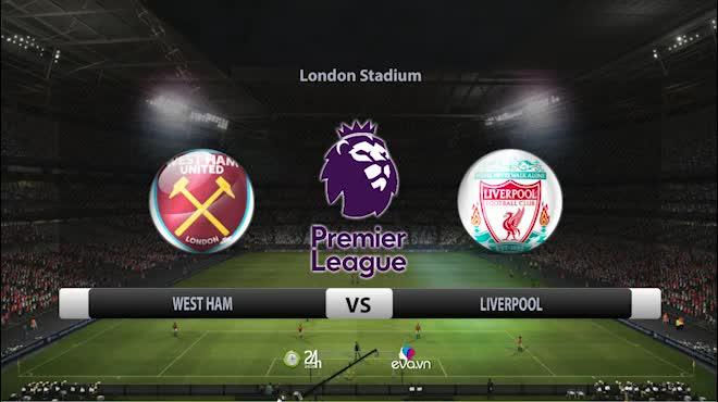 Highlight: West Ham vs Liverpool