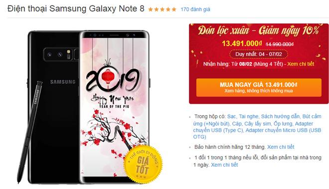 Nên mua iPhone 7 Plus hay Galaxy Note 8 chơi tết? - 7