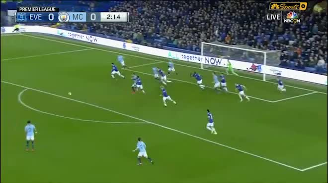 Highlight: Everton vs Manchester City