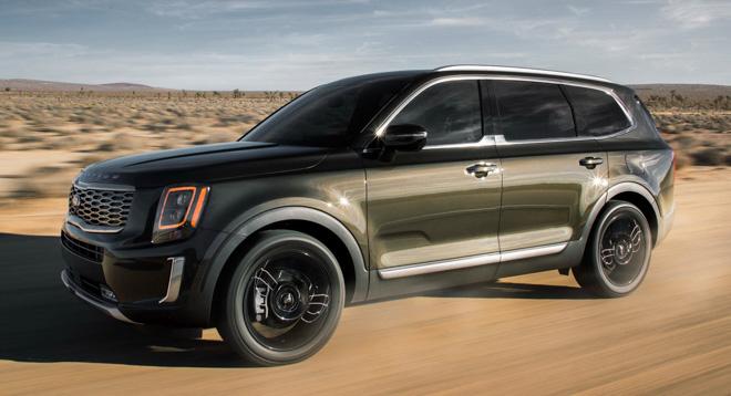 SUV cỡ lớn Kia Telluride chốt giá từ 728 triệu đồng - 1
