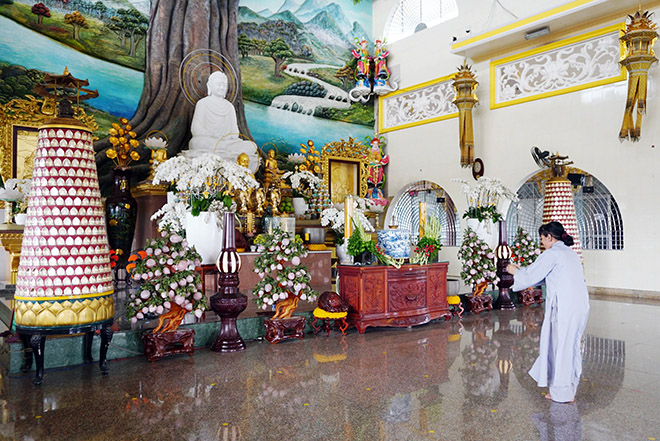 Ngôi chùa có bức phù điêu cây bồ đề nổi lớn nhất Việt Nam ở Sài Gòn - 5