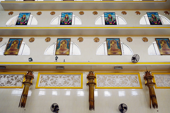 Ngôi chùa có bức phù điêu cây bồ đề nổi lớn nhất Việt Nam ở Sài Gòn - 7