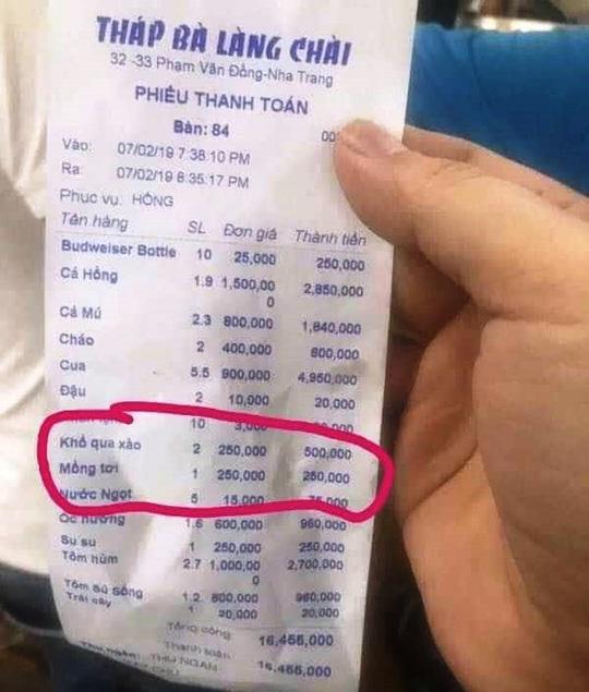 """Khổ qua xào giá 250.000 đồng/dĩa tiếp tục gây """"bão"""" ở Nha Trang - 1"""