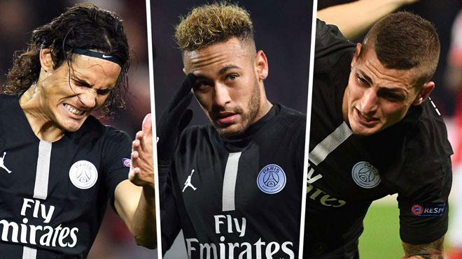 """Trước vòng 1/8 Cúp C1: MU thăng hoa chờ """"vùi dập"""" PSG không Neymar - Cavani - 1"""