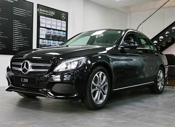 Giá xe Mercedes C200 kèm giá xe Mercedes C Class 2019 mới nhất - 3