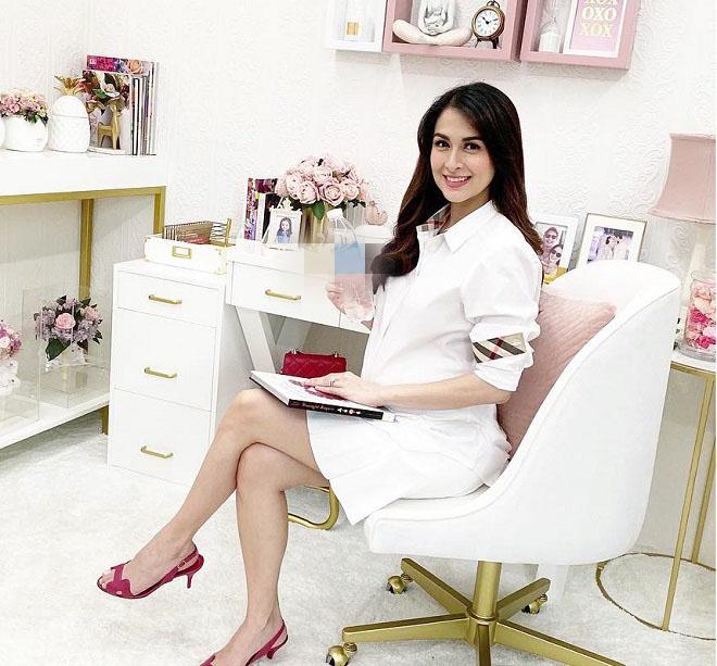 Thời trang bầu bí gọn gàng của người đàn bà đẹp nhất Philippines - 8