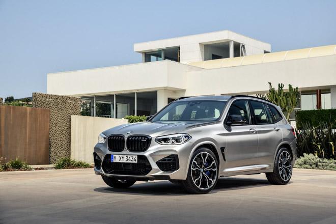BMW vén màn bộ đôi X3M và X4M với sức mạnh hơn 500 mã lực - 4
