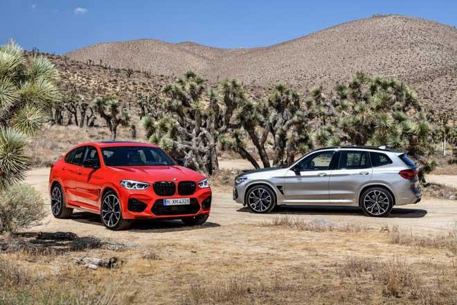 BMW vén màn bộ đôi X3M và X4M với sức mạnh hơn 500 mã lực - 1