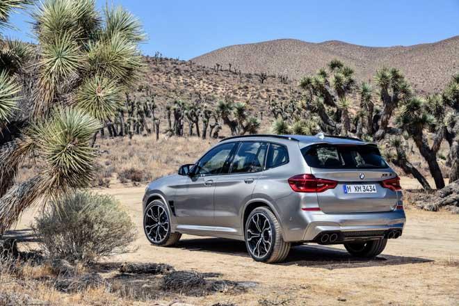 BMW vén màn bộ đôi X3M và X4M với sức mạnh hơn 500 mã lực - 6