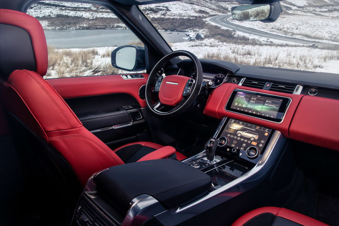 Land Rover lần đầu trang bị động cơ 6 xylanh mới trên Range Rover Sport HST - 8