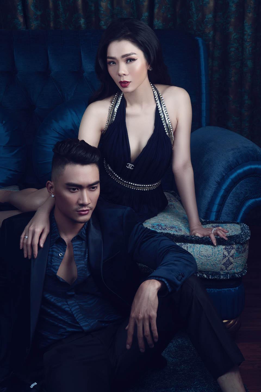 Đón Valentine, Lệ Quyên cùng siêu mẫu nam vào khách sạn 6 sao chụp ảnh - 3