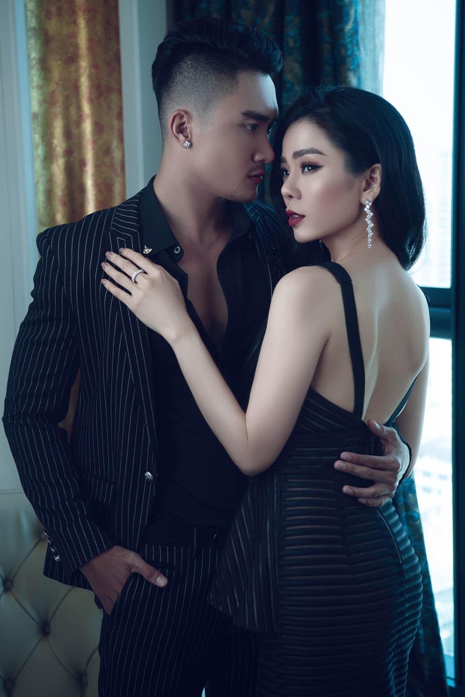 Đón Valentine, Lệ Quyên cùng siêu mẫu nam vào khách sạn 6 sao chụp ảnh - 7
