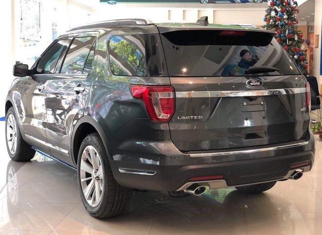 Ford Việt Nam tiếp tục tăng giá mẫu SUV Explorer 2019 - 2