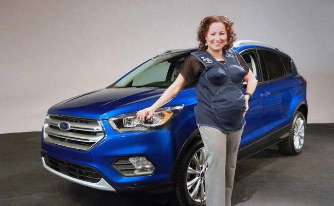 Kinh nghiệm ngồi xe ôtô an toàn cho phụ nữ mang thai - 1