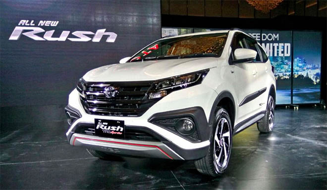 Cập nhật giá lăn bánh xe Toyota Rush 2019 tại đại lý - Có sự điều chỉnh giá trong năm mới - 1