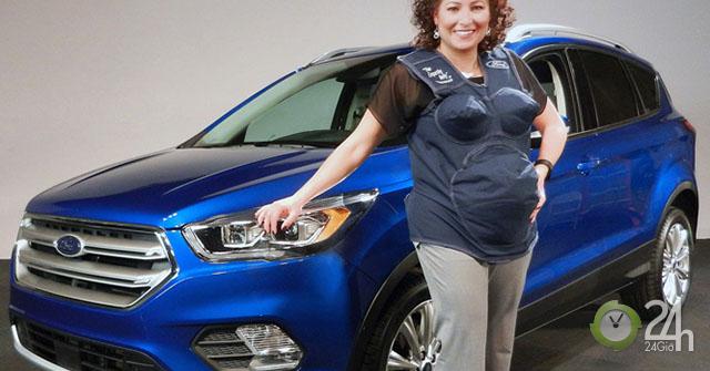 Kinh nghiệm ngồi xe ôtô an toàn cho phụ nữ mang thai