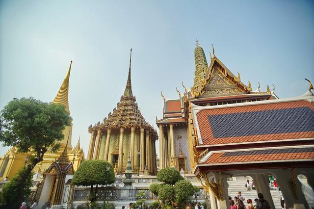 Cung điện dát vàng lớn nhất Thái Lan, sánh ngang với Tử Cấm Thành - 1