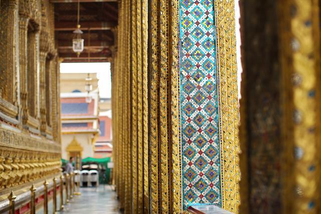 Cung điện dát vàng lớn nhất Thái Lan, sánh ngang với Tử Cấm Thành - 5