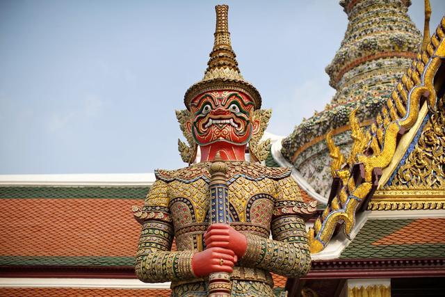Cung điện dát vàng lớn nhất Thái Lan, sánh ngang với Tử Cấm Thành - 7