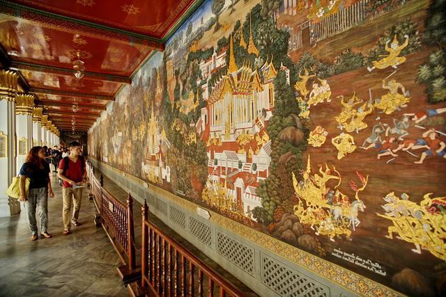Cung điện dát vàng lớn nhất Thái Lan, sánh ngang với Tử Cấm Thành - 8